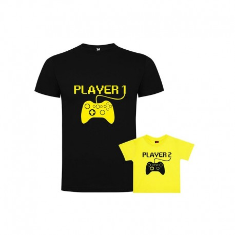Pack Camiseta Player1