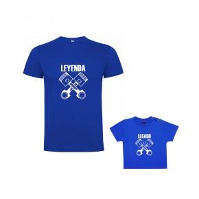 Pack Camiseta Leyenda Pistones