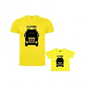Pack Camiseta Leyenda Camión