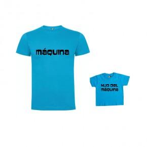Pack Camiseta Maquina & Hijo de Maquina
