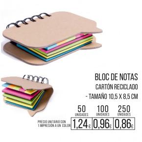 Bloc de notas colores