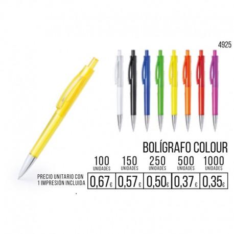Boligrafo Colour