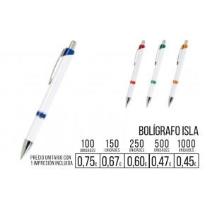 Boligrafo Isla