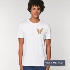 Camiseta Unisex Alas Cris S Villegas