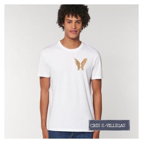 Camiseta Alas Cris S Villegas Original
