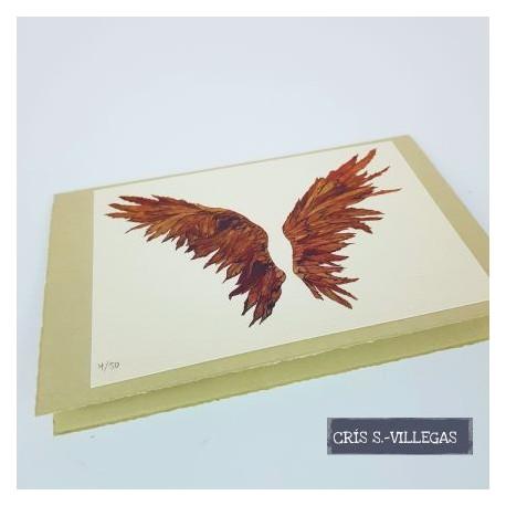 Postal Alas Cris S Villegas