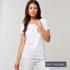 Camiseta Chica Alas Cris S Villegas